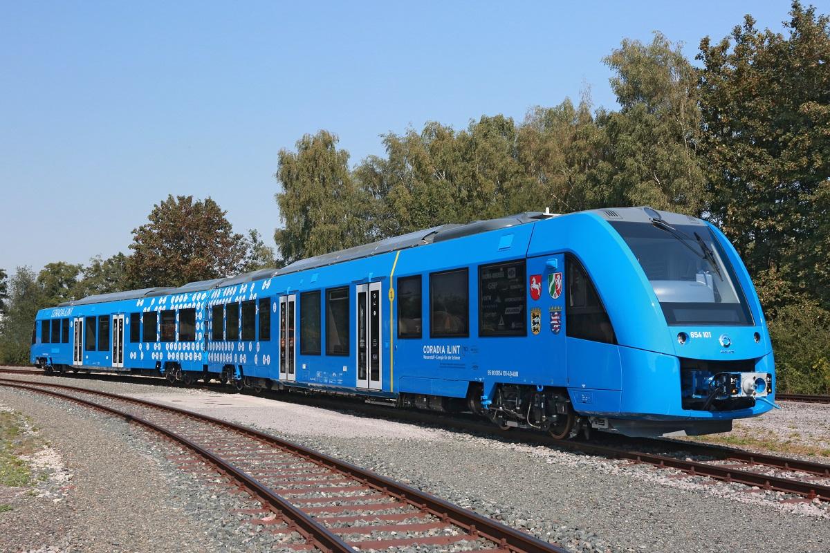 Эко-поезд на водородных топливных элементах / фото alstom.com