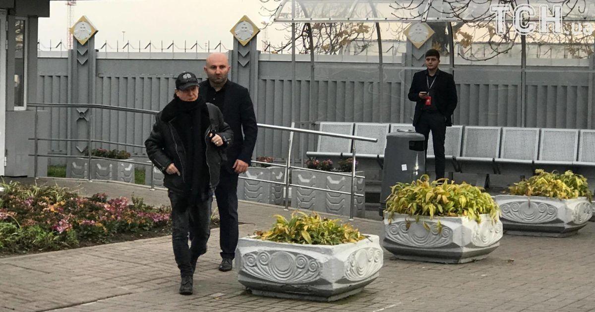 Группа Scorpions прилетела в Киев / фото ТСН