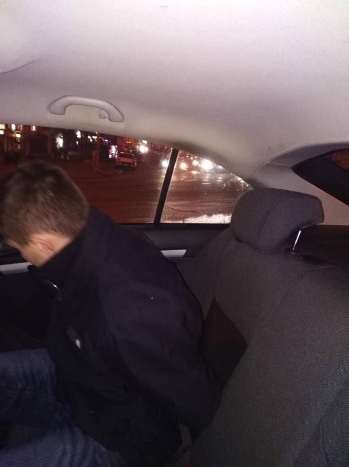 Нападником виявився житель Херсонської області / фото Відділ комунікаціі поліціі Києва