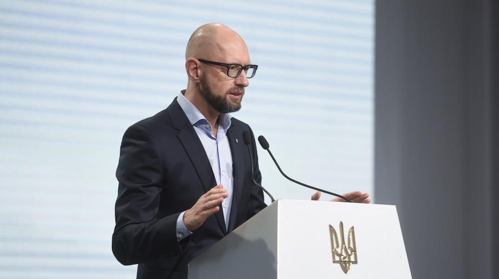 Яценюк подчеркнул, что это день, когда украинцы выбрали свободу и человеческое достоинство / фото nfront.org.ua