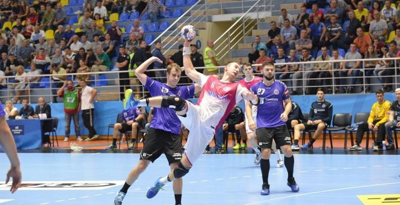 """""""Мотор"""" не зумів обіграти французький """"Нант"""" у грі Ліги чемпіонів / handball.motorsich.com"""