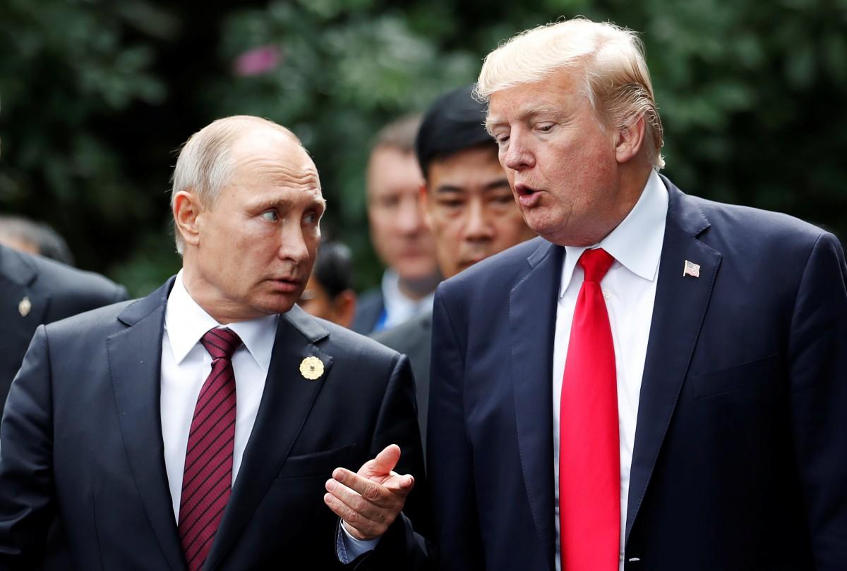 Володимир Путін і Дональд Трамп/ Reuters