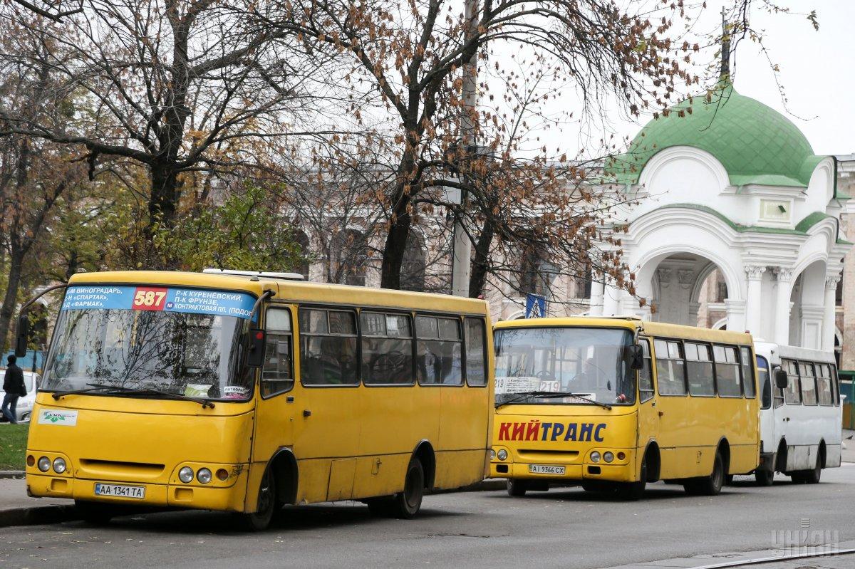 Маршрутки в Києві подорожчають / УНІАН