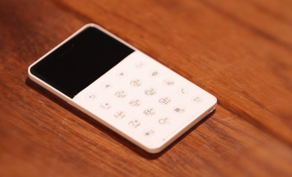 Японская компания FutureModel выпустила в продажу самый маленький в мире смартфон NichePhone-S / скрин видео