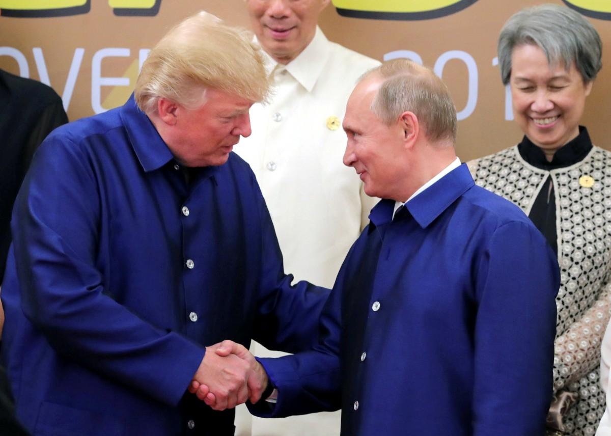 Путин и Трамп встречались лишь один раз на саммите G20 / REUTERS