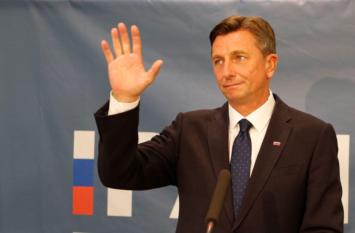 Президент Словении Борут Пахор / фото REUTERS
