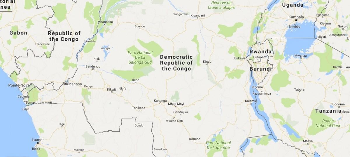 Авария случилась в провинции Луалаба на юго-востоке ДР Конго / фото google.com