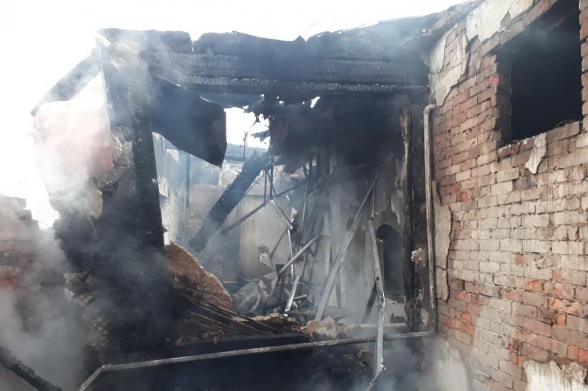 На Харьковщине произошел пожар / фото kharkiv.dsns.gov.ua