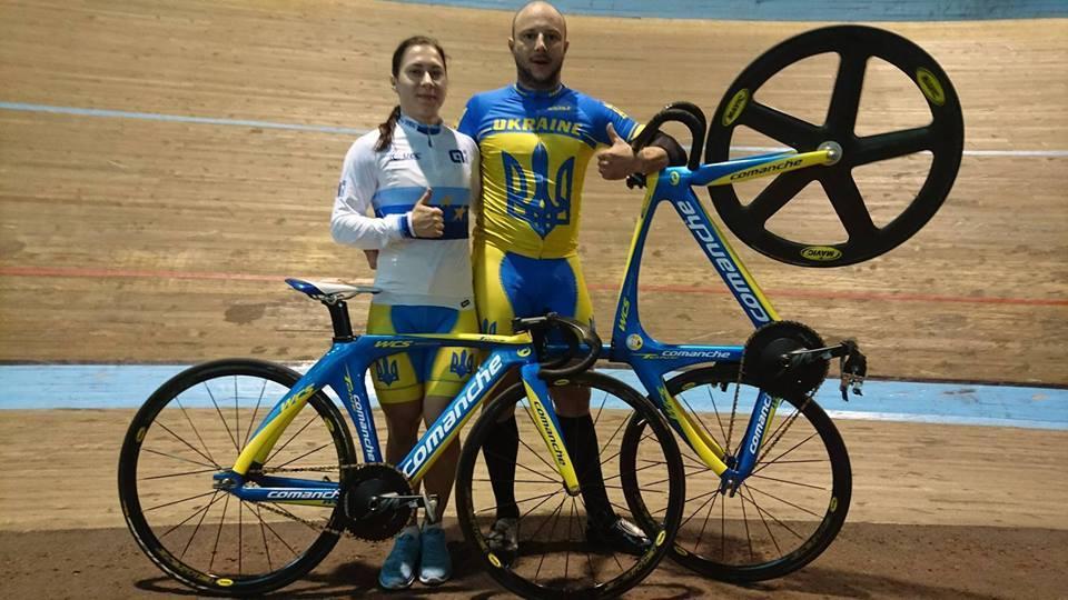 Олена Старікова та Андрій Винокуров / velosport.org.ua