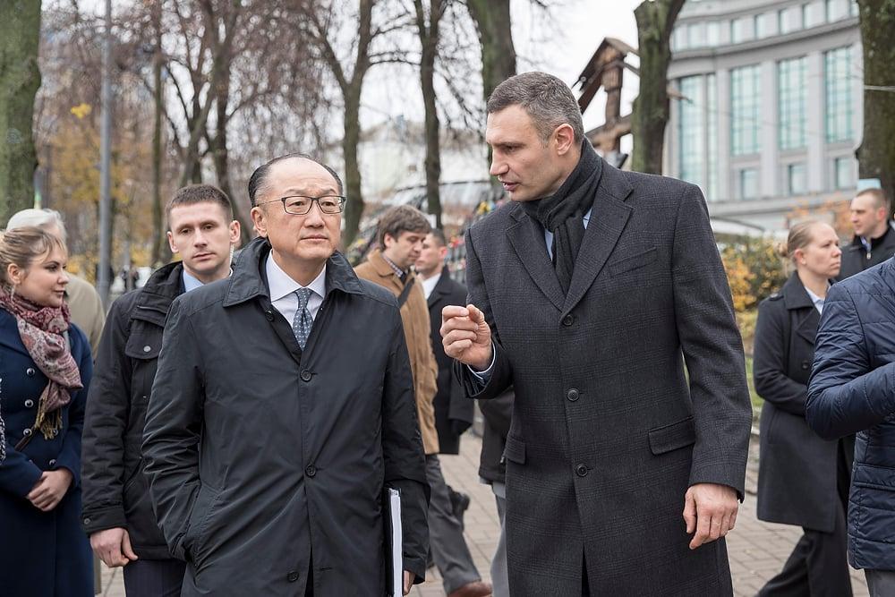 Кличко рассказал главе Всемирного банка о введенной в Киеве системе управления / kiev.klichko.org