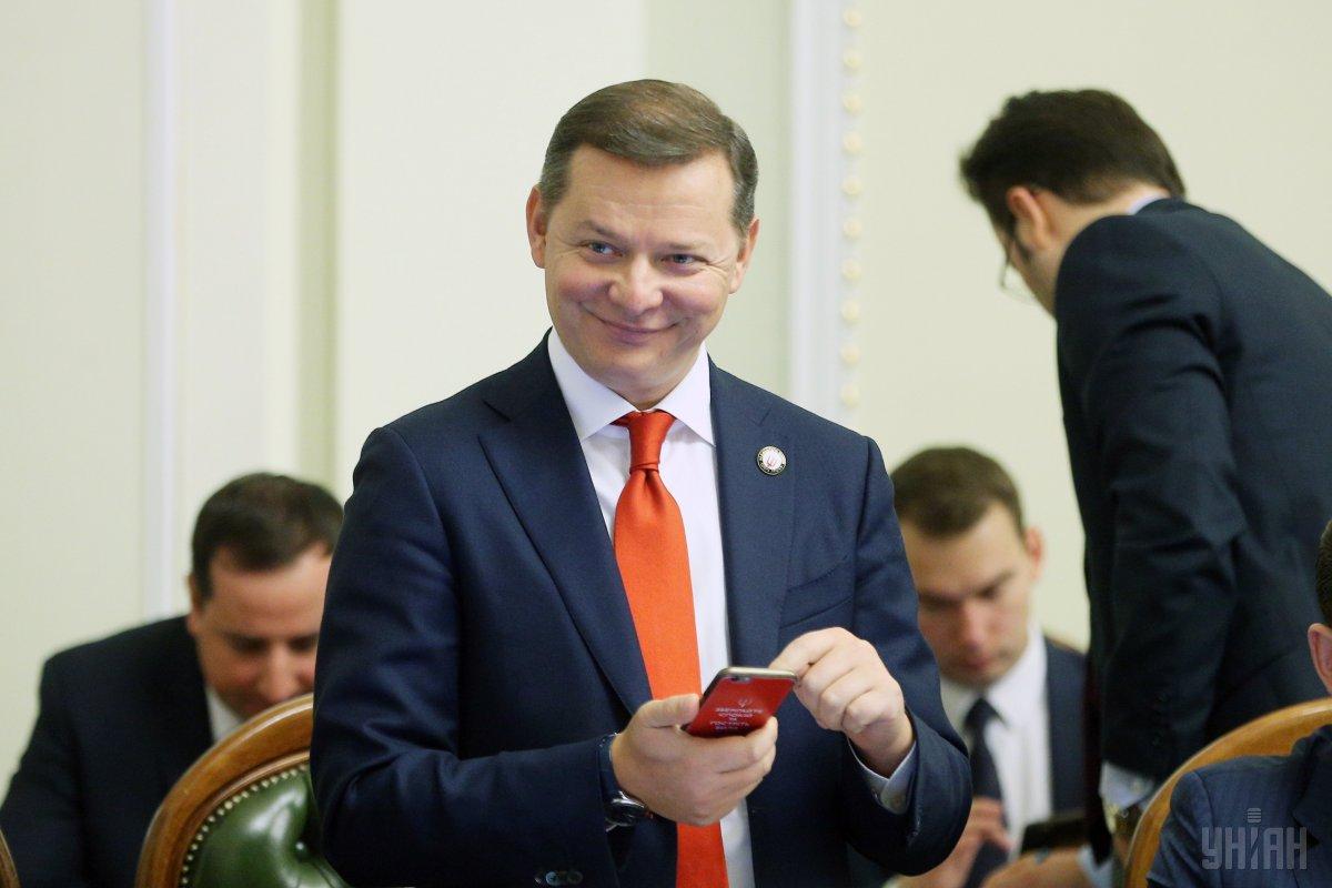 Олег Ляшко йде у нардепи/ фото УНІАН