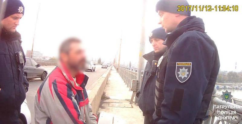Чоловік не пройшов власний тест на міцність / Фото прес-служби Нацполиции Дніпра
