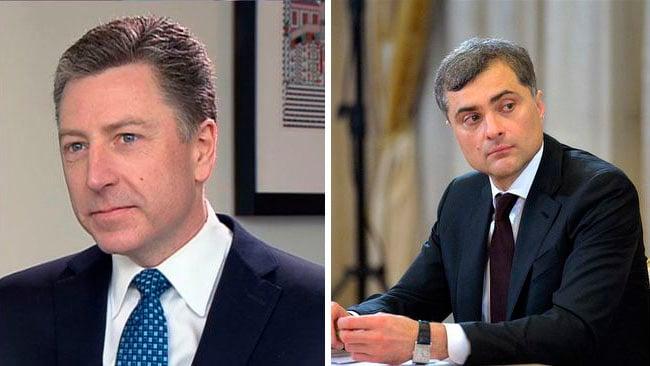 Последняя встреча Суркова и Волкера состоялась 26 января 2018 года в Дубае / фото BELPRAUDA.ORG