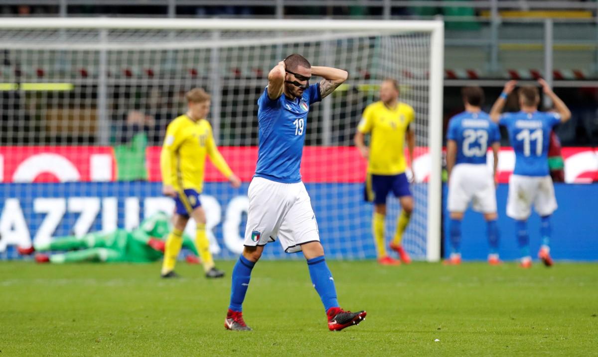 Сборная Италии осталась без чемпионата мира / Reuters