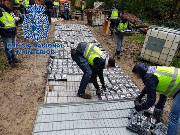 Знайдено 483 посилки, в яких був 531 кілограм кокаїну / фото policia.es