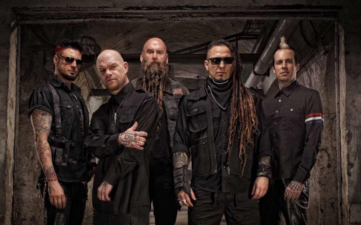 Группа 10 ноября выступил в Москве / фото Five Finger Death Punch, Facebook