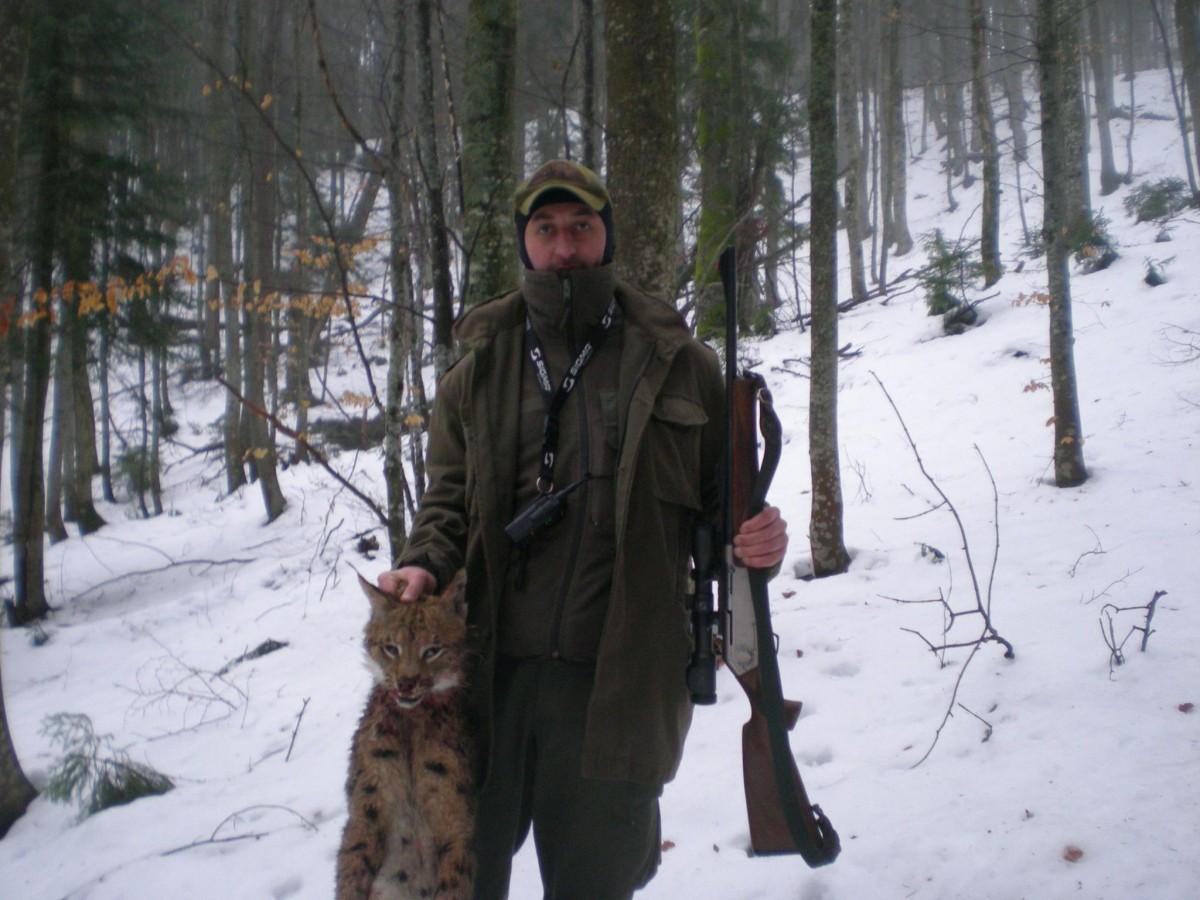 Лісник у Карпатах застрелив рідкісну рись / facebook.com/Василь Шемота