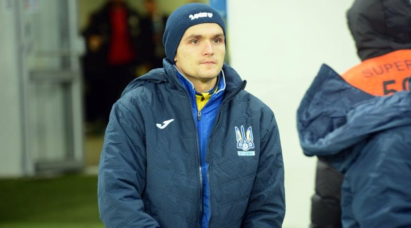 Хавбек Александр Андриевский уже дебютировал за национальную сборную Украины, впрочем, в родном клубе —
