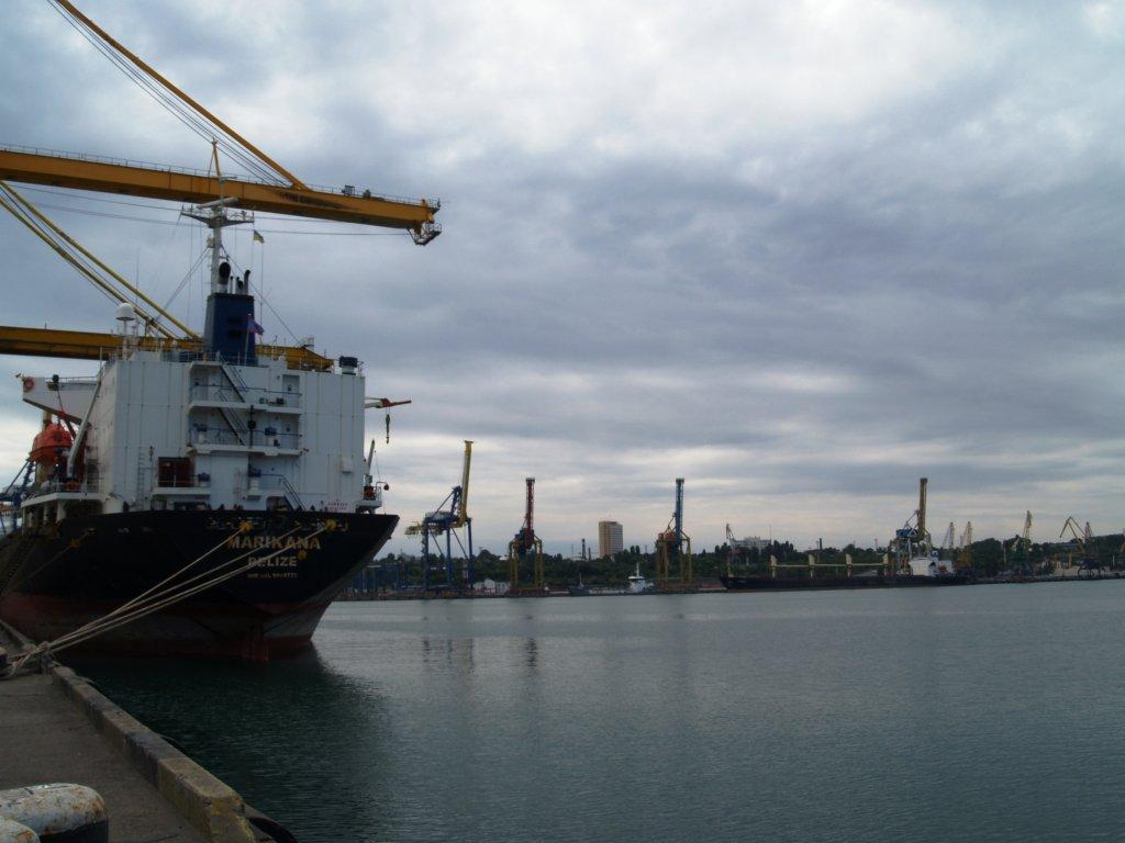 «Дочка» крупнейшего портового оператора DP World зашла в порт «Черноморск» / фото seaport.com.ua
