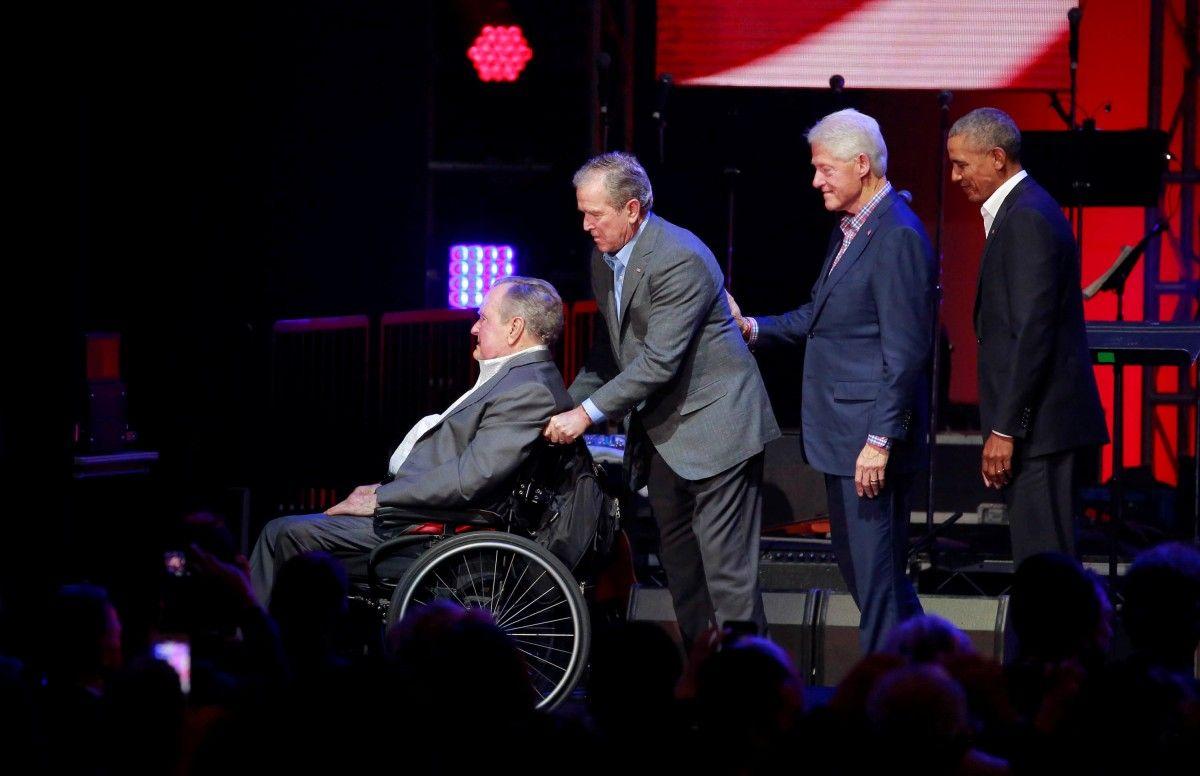 Четыре экс-президента США / REUTERS