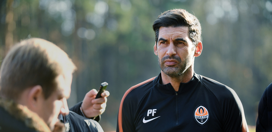Паулу Фонсека / shakhtar.com