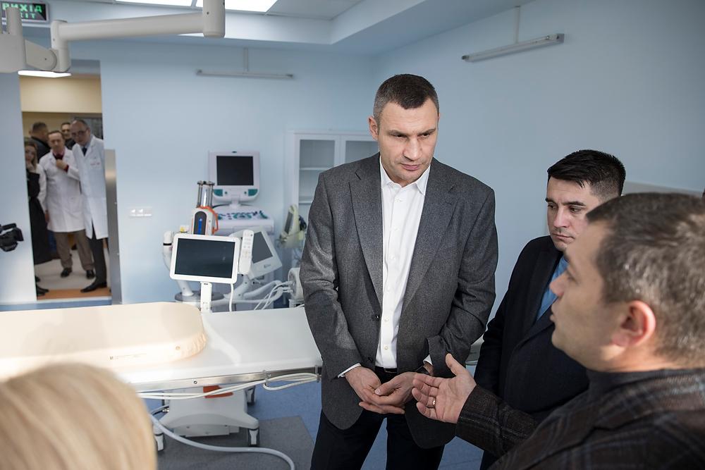Кличко отметил, что реформирование медицины является одним из приоритетов для столичных властей / фото kiev.klichko.org
