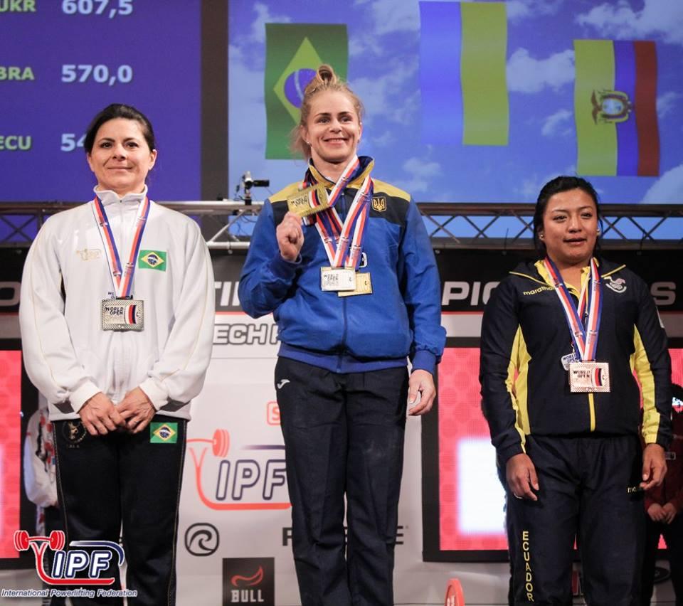 Українці завоювали два золота на чемпіонаті світу з пауерліфтингу
