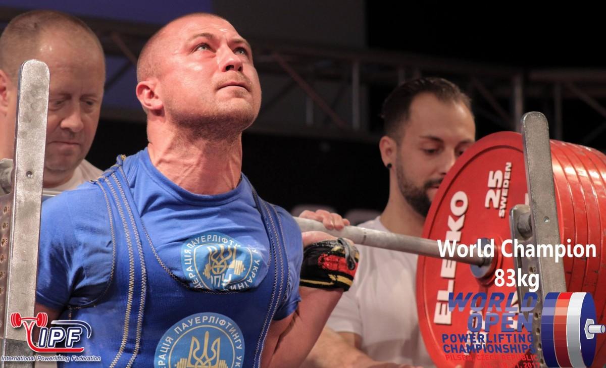 Андрій Наньєв / facebook.com/powerlifting.ipf