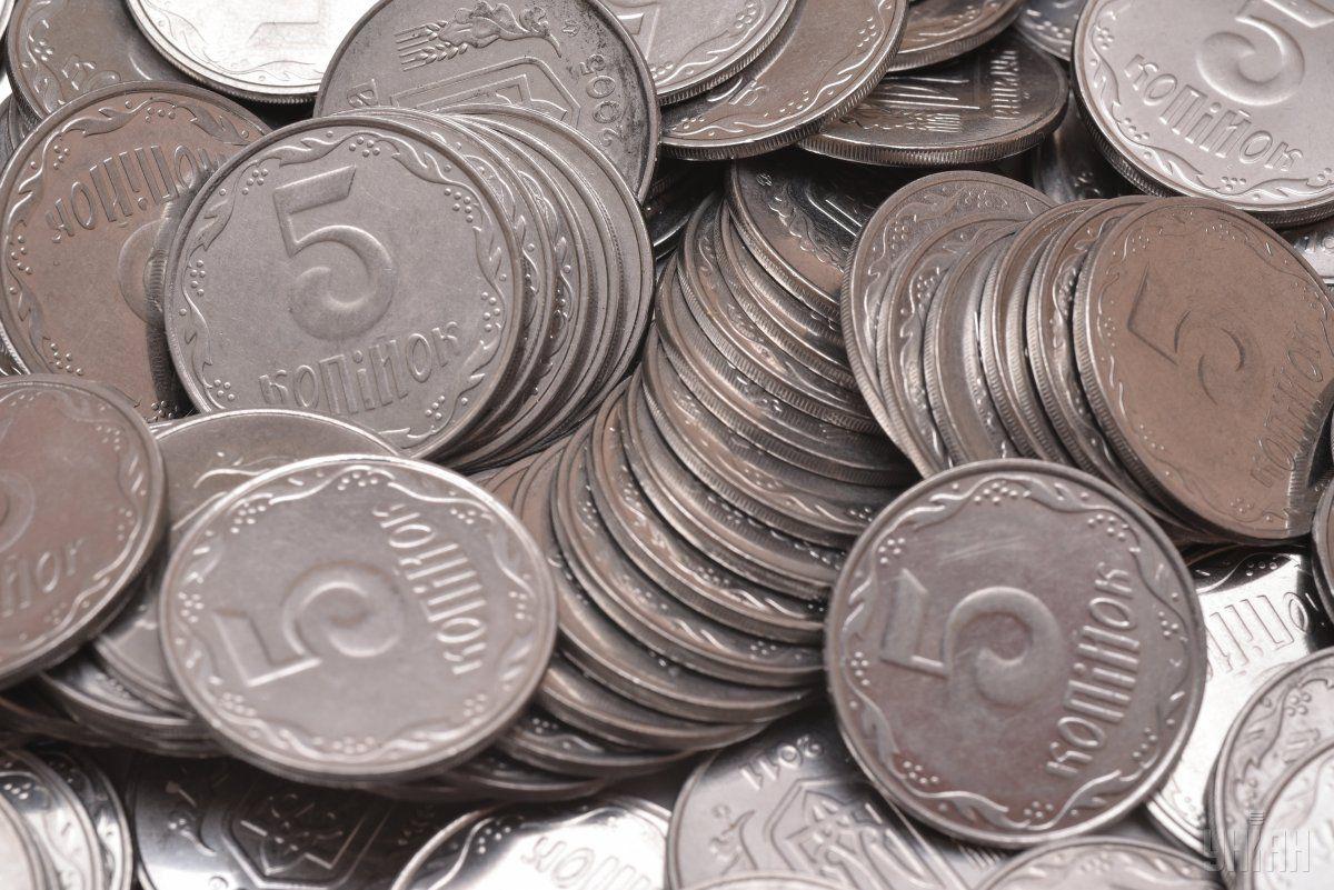 Монеты номиналом 1,2 и 5 копеек сегодня сталиисторией / фото УНИАН