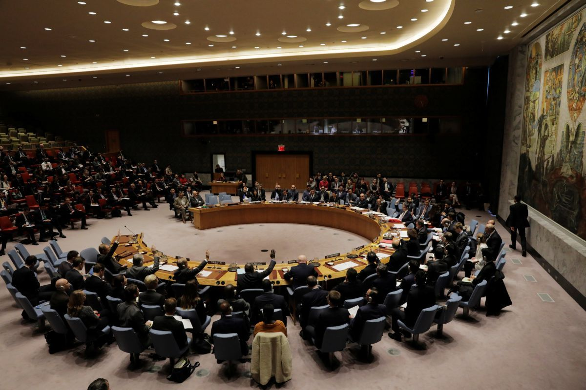 В Совбезе ООН обсуждаю украинский языковой закон / REUTERS