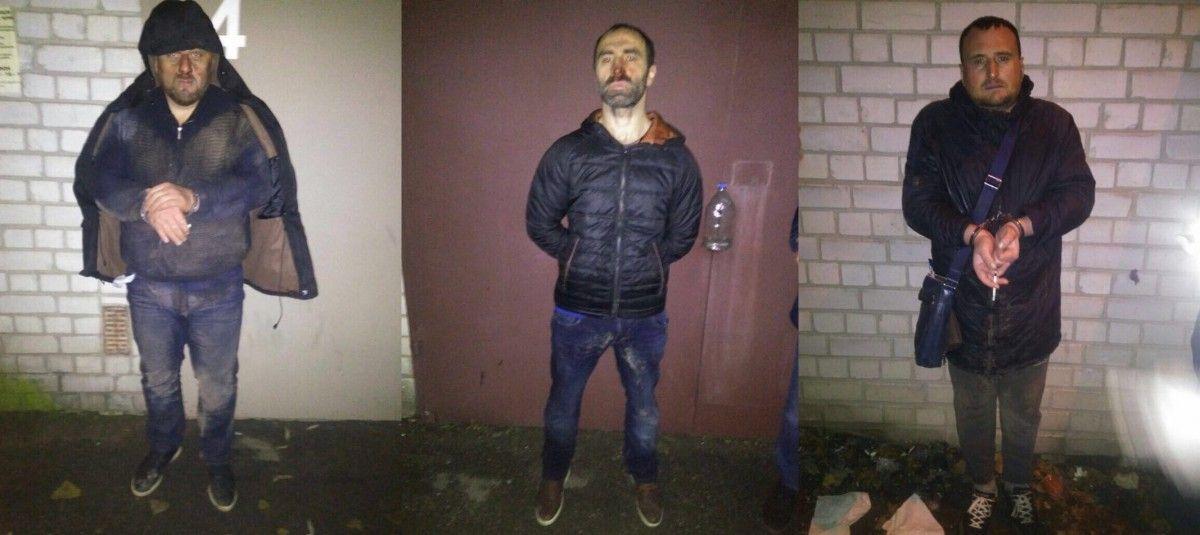 Суд заарештував п'ятьох земляків Саакашвілі, які у Києві відібрали у подружжя 3,5 мільйони гривень