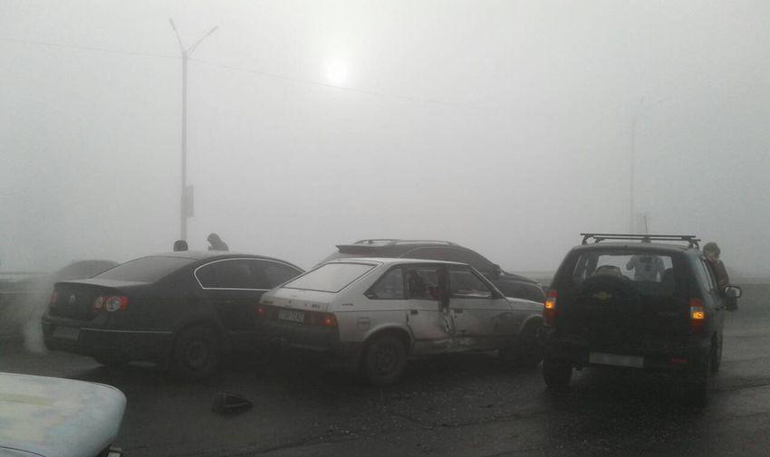 ВКаменском намосту случилось массовое ДТП