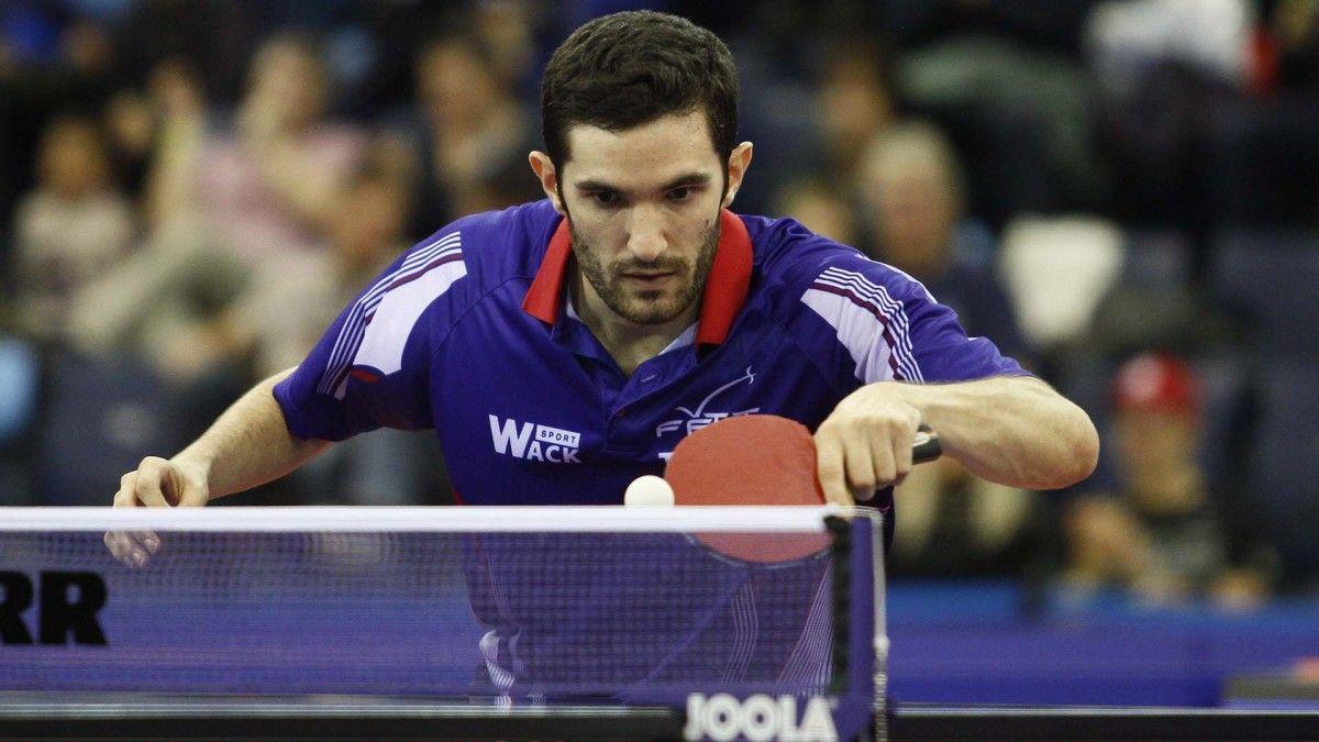 Нынешним чемпионом Европы является Эмануэль Лебессон / фото ittf.com