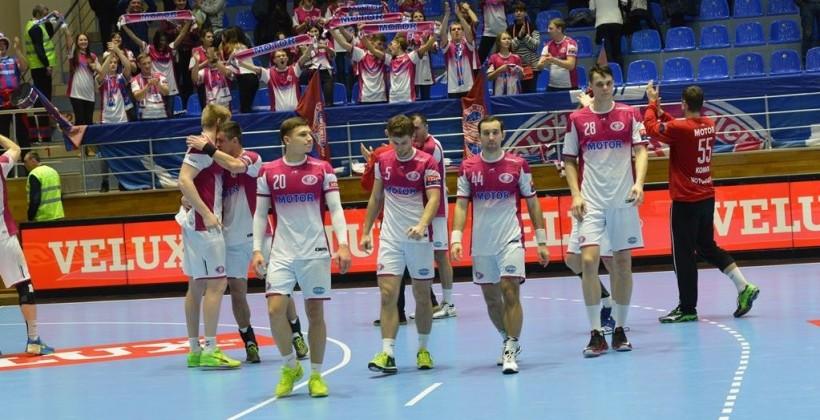 """""""Мотор"""" вышел в плей-офф Лиги чемпионов / handball.motorsich"""