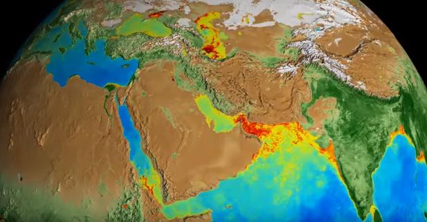 NASA показало на відео зміни Землі за 20 років
