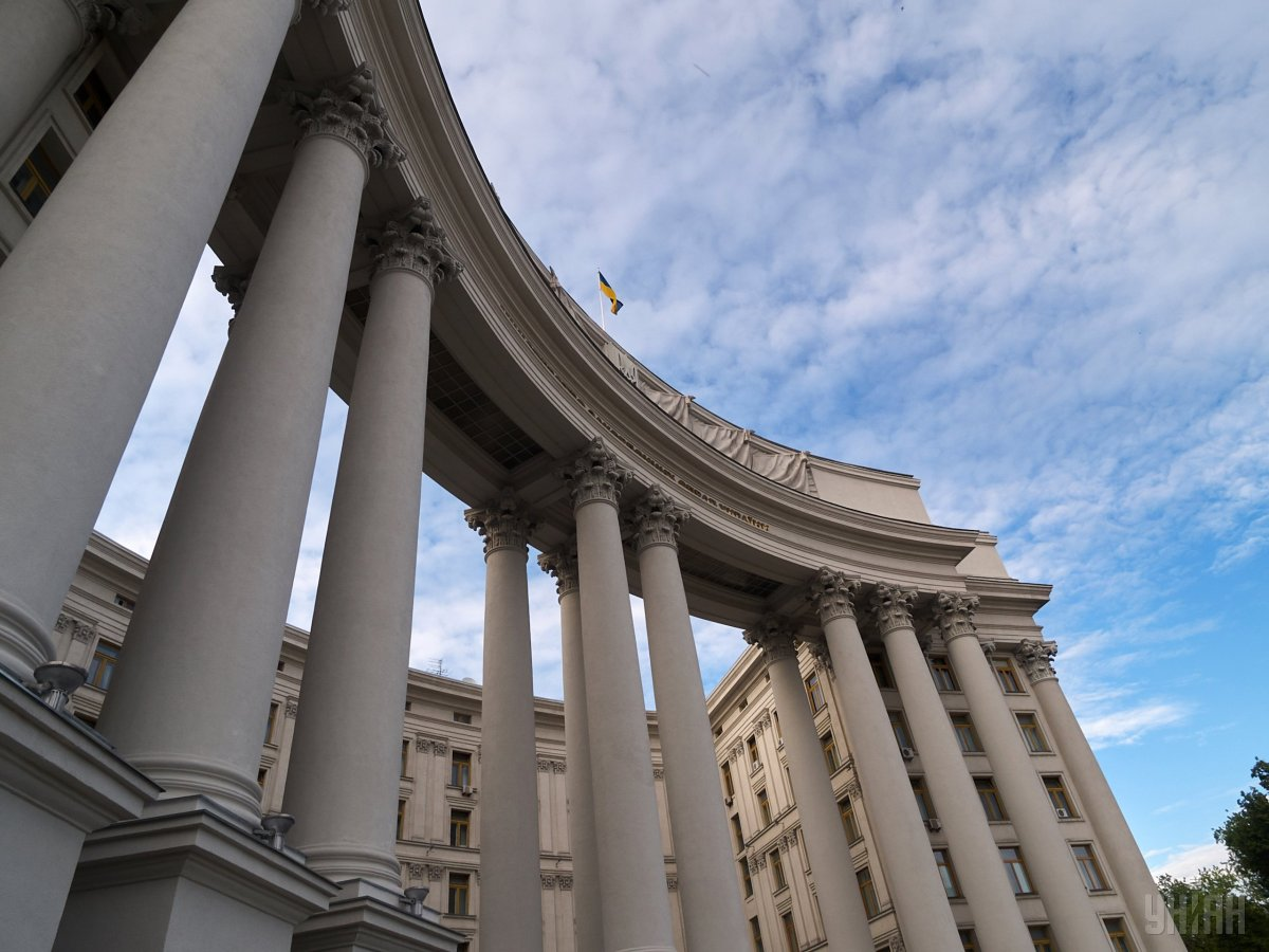 МИД требует разъяснений от РФ из-за заявления о нормандском саммите \ фото УНИАН