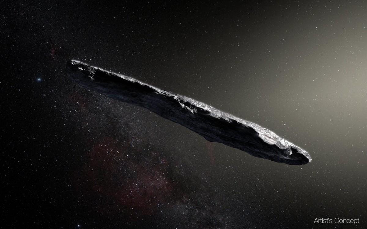 Астрономи висунули нову теорію про погодження Оумуамуа / фото European Southern Observatory/M. Kornmesser