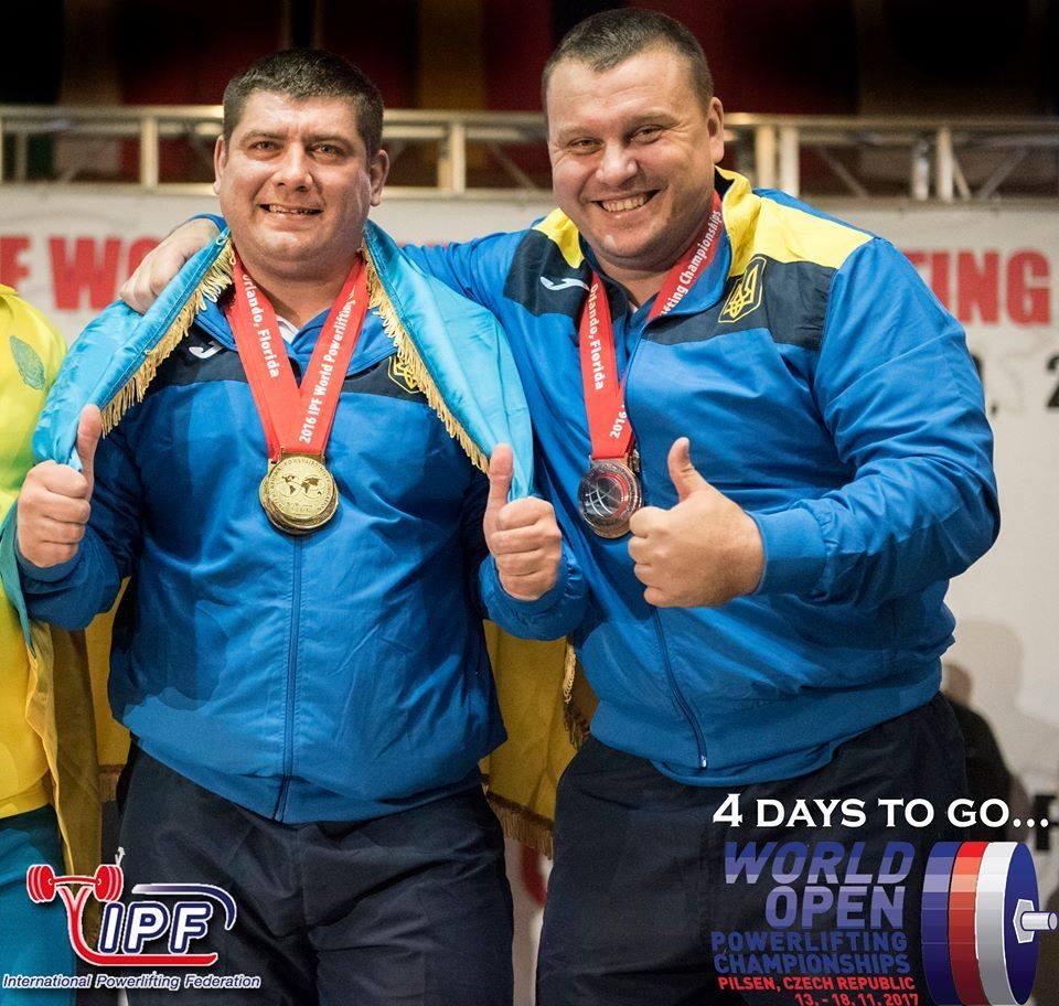 Збірна України з пауерліфтингу стала найкращою у світі