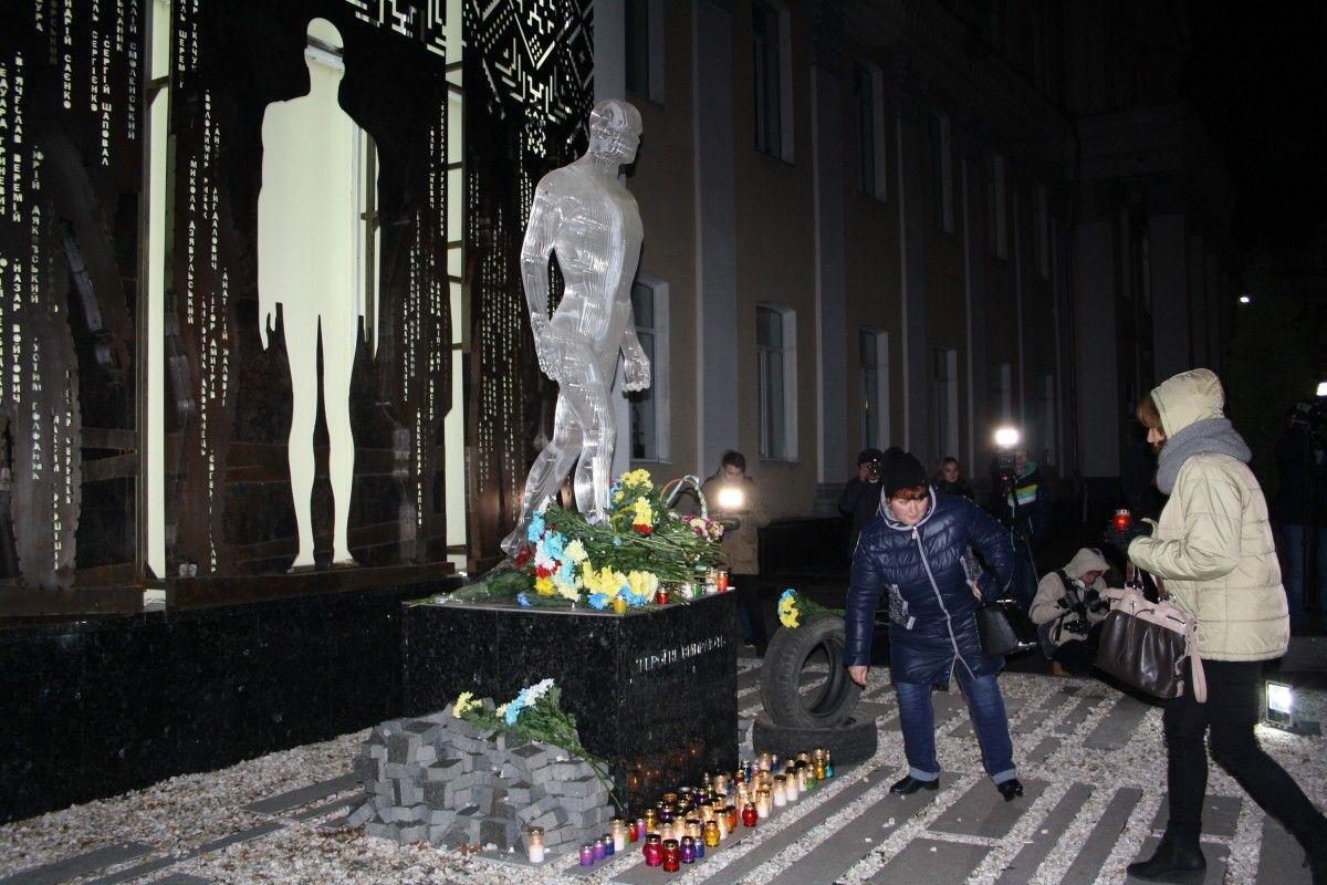 Мероприятие началось в 18.00 часов на площади Королева / фото Юхимчук Зоя