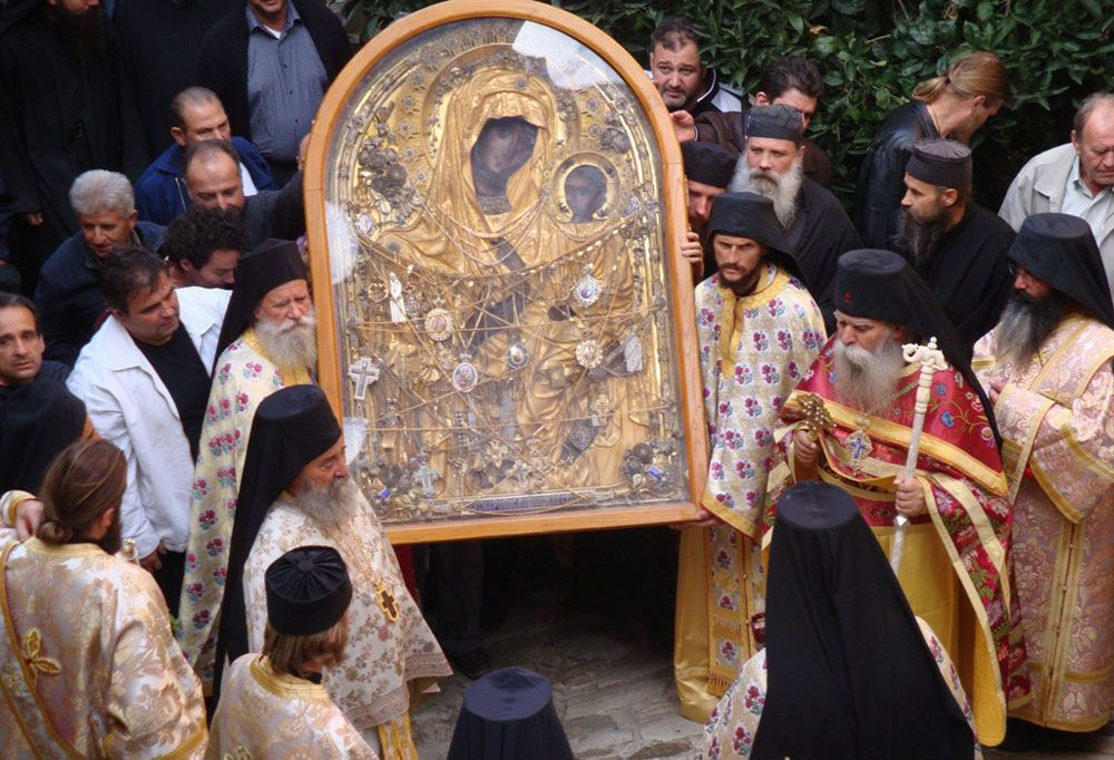 Торжества в честь иконы Божией Матери