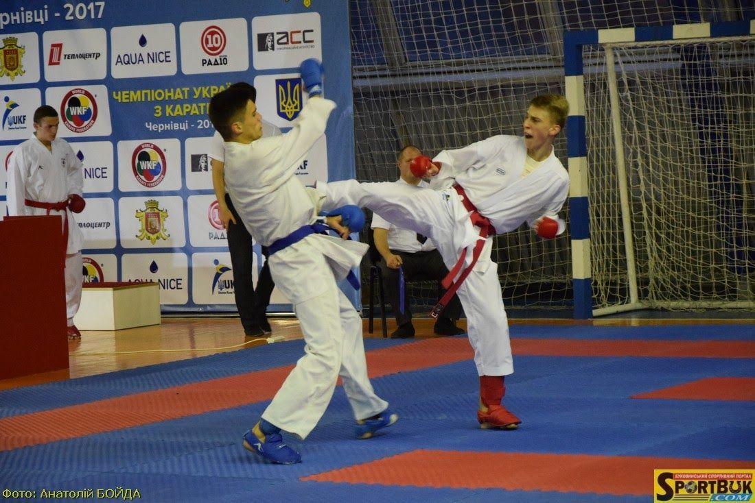 В Черновцах состоялся чемпионат Украины по каратэ / УФК