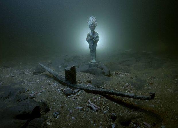 В Египте нашли ритуальную ладью бога Осириса и затонувшие корабли римского периода / Egypt Ministry of Antiquities