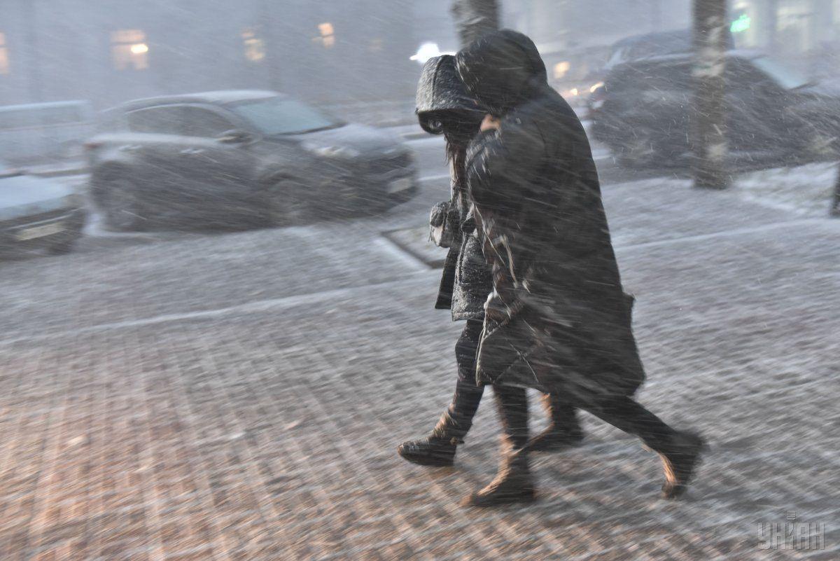 Сьогодні в Україні очікуються снігопади / УНІАН
