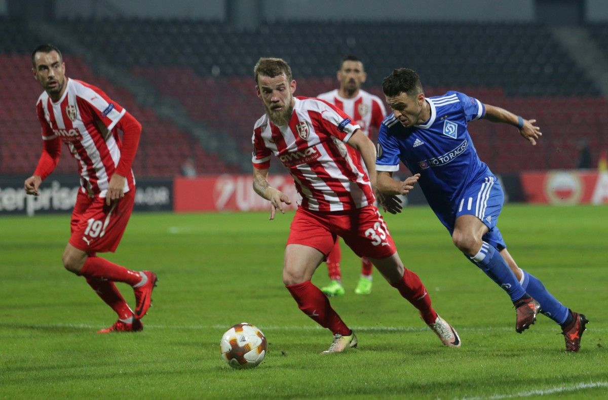 Скендербеу - Динамо - 3:1 / Reuters