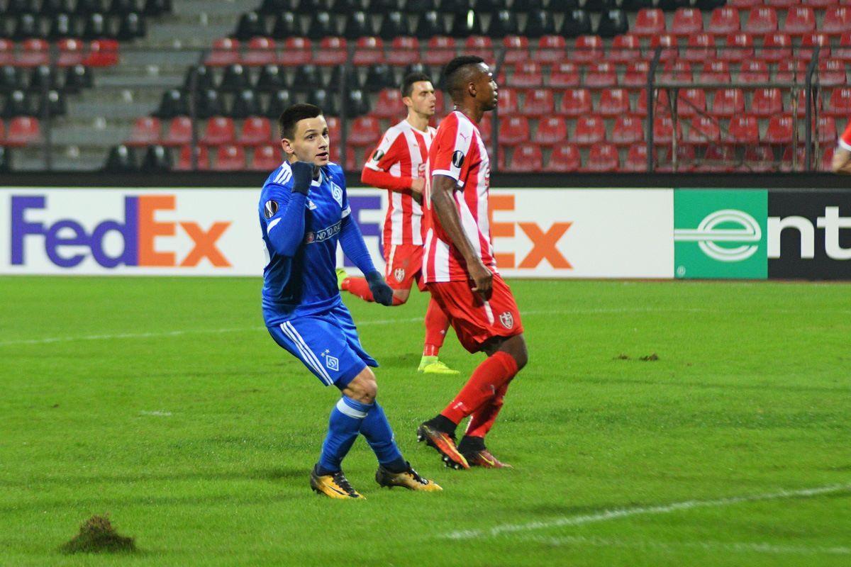 Назарий Русин забил гол в дебютной игре за