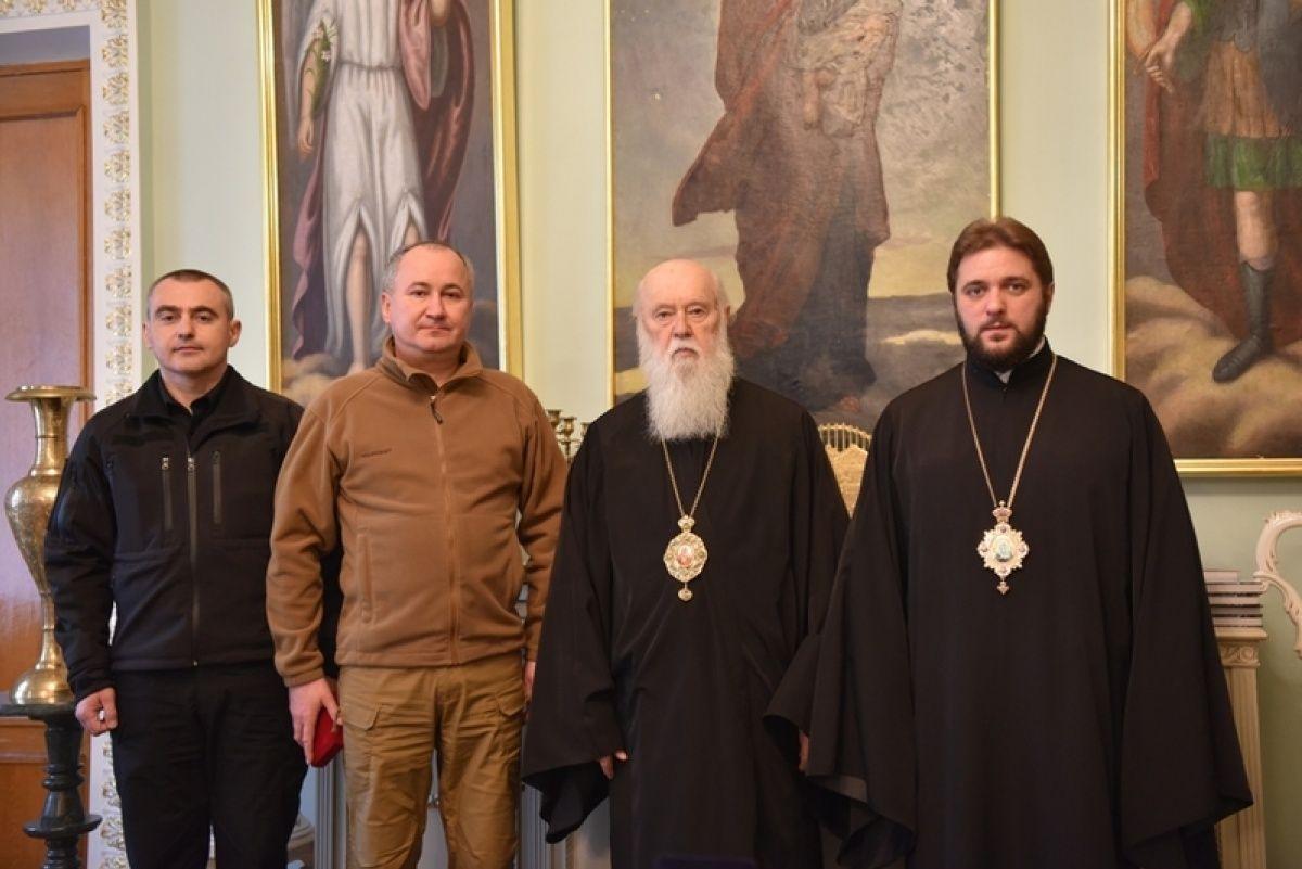 СБУ нагородила Філарета / cerkva.info
