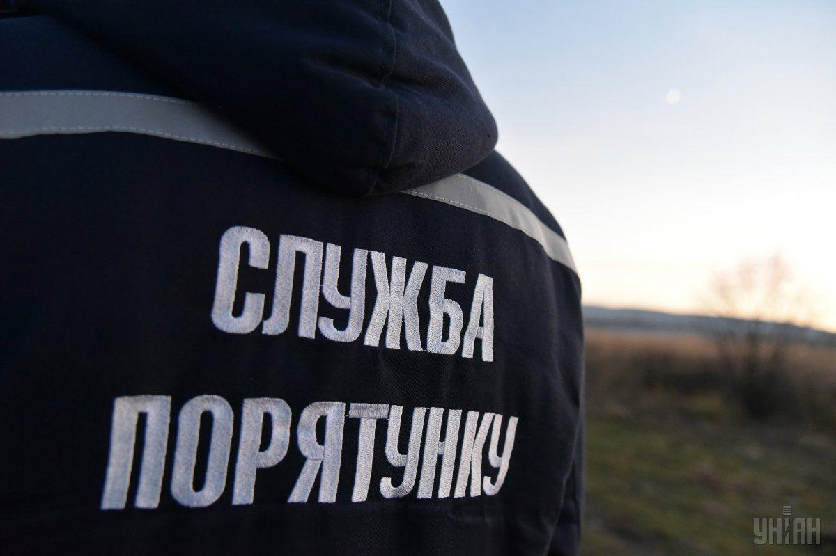 В Харькове во время пожара в многоэтажке эвакуировали свыше 100 человек / фото УНИАН