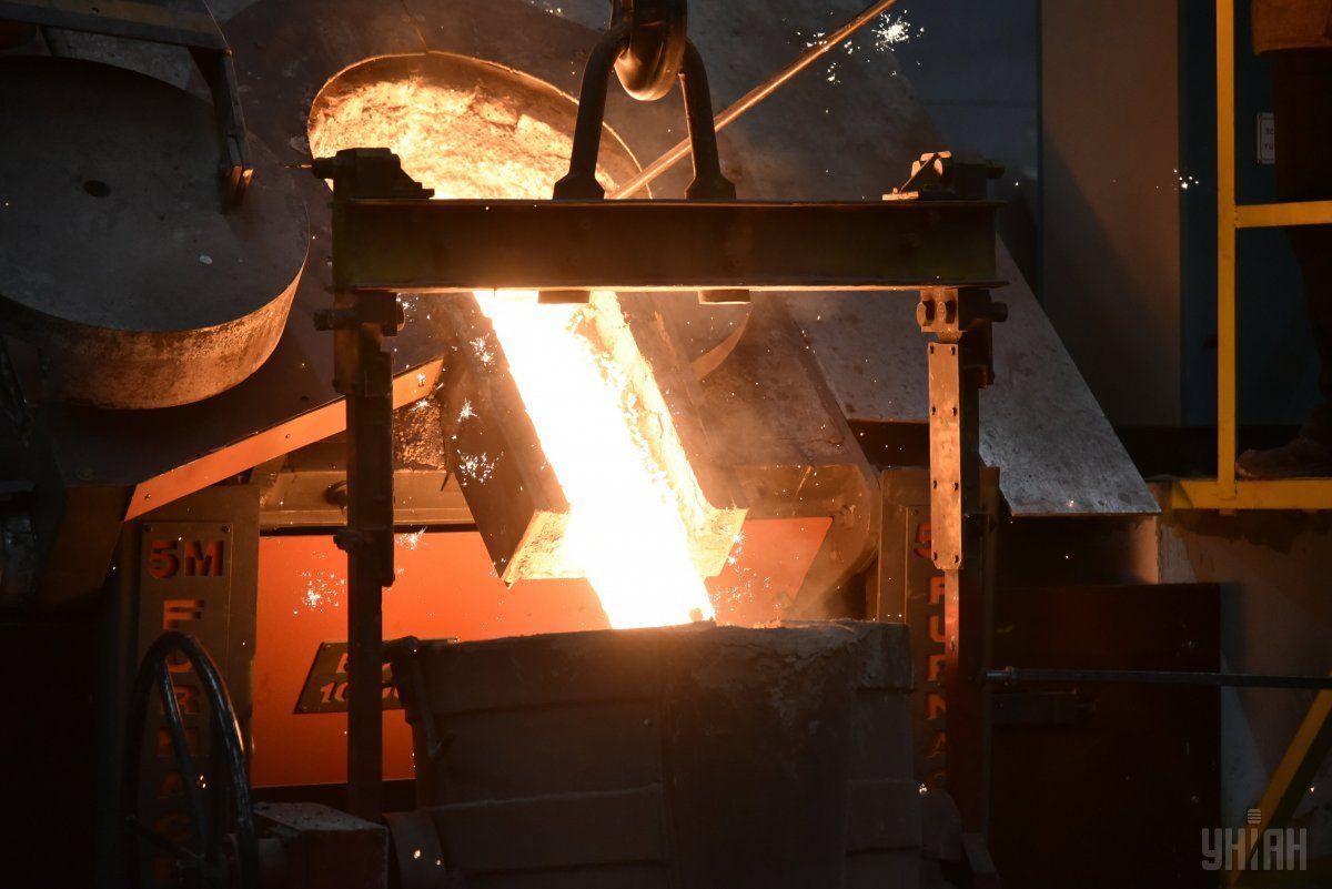 У 2016 році виробництво сталі в Україні зросло на 6% / фото УНІАН