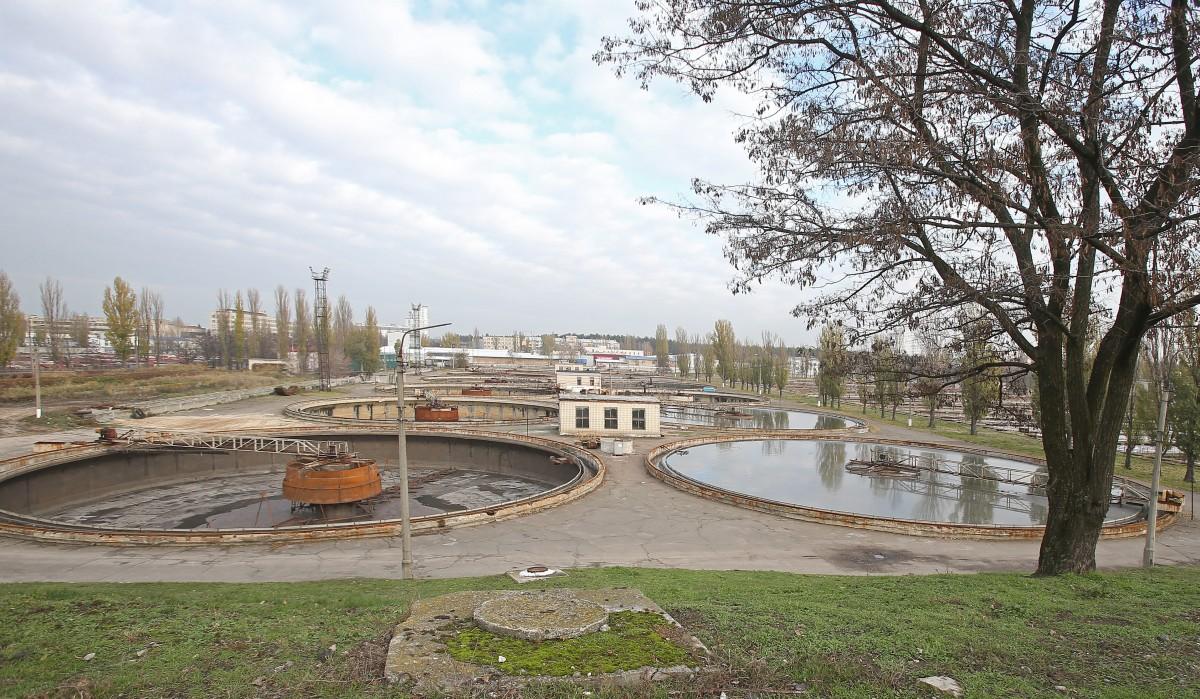 Бортническая станция аэрации / фото УНИАН