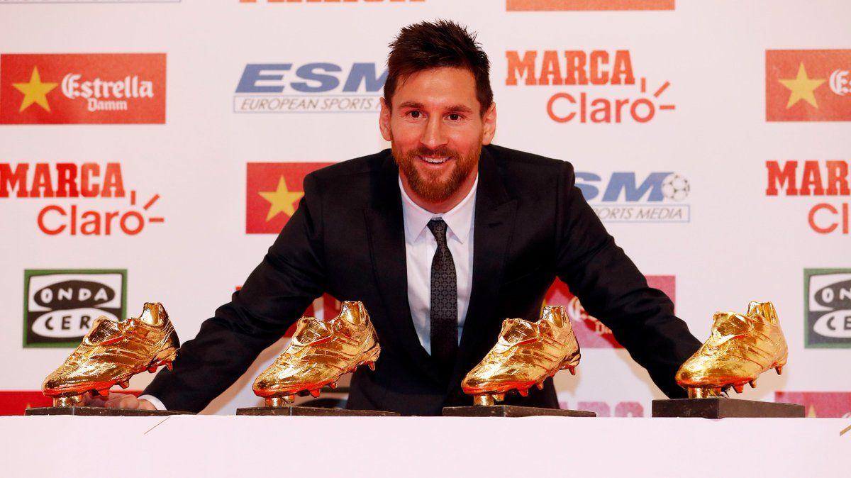 Мессі вже заробив за кар'єру 4 золоті бутси / twitter.com/FCBarcelona